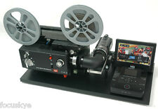 Elmo Movie Projector Telecine Video Transfer Unit,  Dual 8   Built-In HD Camera