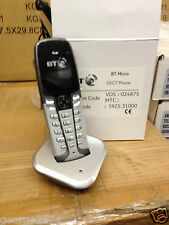 BT GAP DECT ADDITIONAL CORDLESS TELEPHONE HANDSET  AND CHARGER NEW