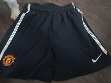 Manchester United visitante 2011-2012 Fútbol Pantalones Cortos Cintura 10-12 años/Bi
