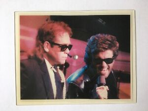 Elton John feat. George Michael - Wrap Her Up, Vinyl Picture Disc, UK 1985