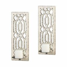 Wall Sconces Candle Holder, Modern Indoor Candle Sconces Wall Decor (1 Pair)