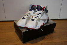 Air Jordan 7 VII Retro Olympic 2004 White Silver Shoes NBA Game Size UK 9 US 10
