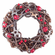 Brown Christmas Wreath