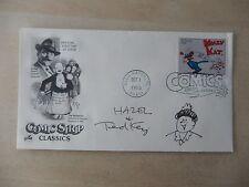 "Ted Key Autographed 3 1/2"" X 6 1/2"" FDOI Envelope"