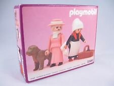 PLAYMOBIL VINTAGE 5500 GRANDMA & MAID VICTORIAN MANSION DOLLHOUSE - NEW IN BOX!