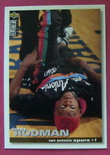 DENNIS RODMAN, 1995-96 UD COLLECTOR'S CHOICE #10, SPURS