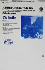 The Beatles John Lennon 1982 Abbey Road Talks Nebulous Records Promo Poster