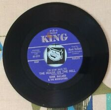 Hank Ballard & The Midnighters 45 (I'm Goin' Back To) The House on the Hill VG++