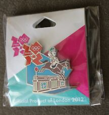 Mascot Eventing London 2012 Olympics Pin NEW