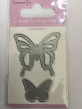 Dovecraft Mini Corte muere-Mariposas 2 Decorativo Mariposa muere (007)