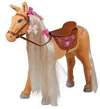 Happy People Barbie Pferd Tawny Stehendes Plüschpferd Kinderspiele Spielzeug