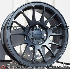 15X7 ROTA REEV WHEELS 4X100 RIMS +40MM OFFSET GUN METAL GRAY (SET OF 4 )