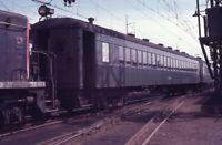 PCMY Railroad Train Passenger Car STAMFORD CT Original 1971 Photo Slide