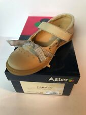 chaussures FILLE ASTER BEIGE taille 28 neuve N°142