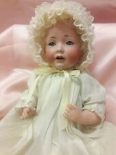 "Antique 12"" German Bisque JDK 237 Hilda Character Baby Doll by Kestner c.1914"