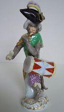 Meissen Porcellana-personaggio scimmie cappella Tamburino Drummer Monkey volume #60015