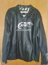 Dale Earnhardt Jr #88 Jr Nation Black Leather Jacket Chase Authentics size Large