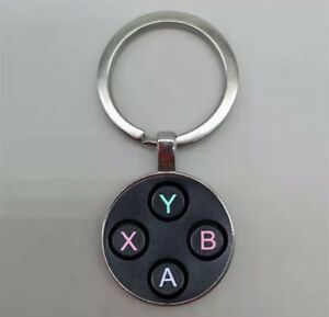 Xbox Keyring/ Keychain ABXY Buttons Gamer Controller *UK SELLER* Xbox One/ 360