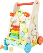 Small Foot Flowery Meadow Baby Walker 10606 Childrens Baby Toy Wooden 12m+