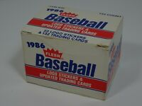 Fleer 1986 Baseball Logo Stickers & Updated Trading Cards