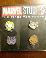 Disney Movies Rewards MARVEL Studios 10 Years Collection Set 4