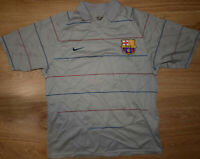 BARCELONA SPAIN 2003/2004/2005 AWAY FOOTBALL SHIRT NIKE CHEAP VERSION SIZE M