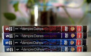 The Vampire Diaries DVD Seasons 1-4 VGC Free Postage