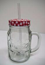 Coca-Cola Mason Jar (20oz) - BRAND NEW
