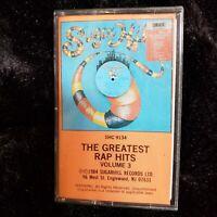 Sugarhill The Greatest Rap Hits Volume 3 Cassette Tape Grandmaster Flash 1984