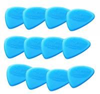 Guitar Picks Clayton Frost-Byte Standard 12 Pack Blue Nylon CHOOSE any GAUGE