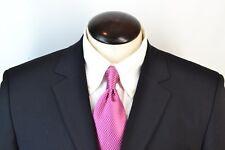 Hugo Boss Albo/Hago Recent Black Non Shatnes Wool Blend 2 Pc Suit Sz 40R EUC