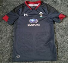 Wales Rugby Away Alternate Shirt 2018-19 - 10-12 years/ Used