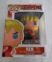 Street Fighter - Ken (Special Attack) US Exclusive Pop! Vinyl -Funko