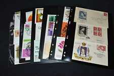 Australia 1950s to 1970s Fdcs on Pages, 99p Start, All Pictured