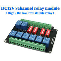 DC12V 8-channel Relay Module With 8 Road of High Low Level SRD-DC12V-SL-C