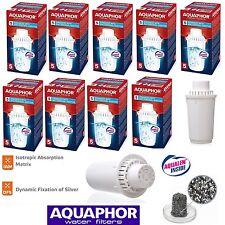 B100-5 AQUAPHOR 9 Replacement Cartridges With Bactericidal Additive,Filter Jug