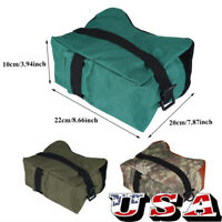 Shooting Hunting Range Sand Bag Set Rifle Gun Bench Rest Stand Front Rear Bags