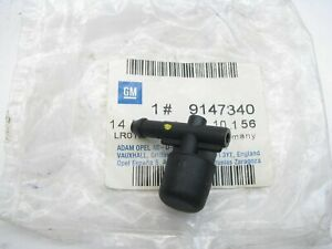 NEW GENUINE OEM Gm 9147340 Windshield Washer Nozzle - 2000-2001 Cadillac Catera
