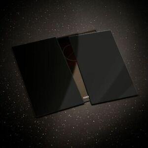 Glass Chopping Board Cooker Hob Cover ESG 60x52cm or 2x30x52 cm Black