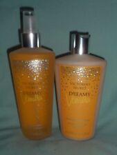Victoria's Secret Holiday Dreamy Vanilla Fragrance Mist and Body Lotion