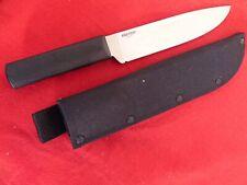 "Cold Steel Long Hunter Fixed Blade Knife (7"" Satin) 36PS & sheath"