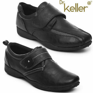 DR KELLER WOMENS SHOES LADIES WORK CASUAL SOFT COMFORT MARY JANE FLAT LOAFERS