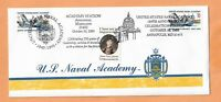 U.S NAVAL ACADEMY 150th ANNIVERSARY OCT 10,1995 ANNAPOLIS MD   NAVY COVER