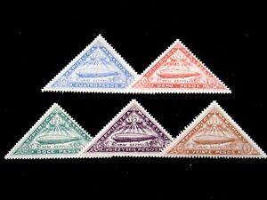 PARAGUAY - SCOTT# C74-C78 - ZEPS - CS - MH - CAT VAL $32.50