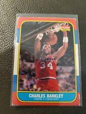 1986-87 Fleer Basketball #7 Charles Barkley Nice Card CB A