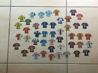 Lot de 46 magnets/Stickers | JUST FOOT | 2008/2009/2010