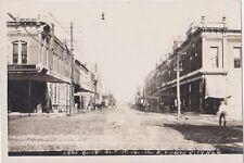 RPPC,Dodge City,KS.Chestnut St.Looking E.Horse Drawn Wagons,Bowers Photo,c.1908