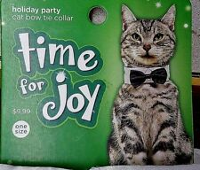Cat Bowtie Petco Time for Joy Formal Holiday Bow Tie - Dog & Pet Clothes Too!
