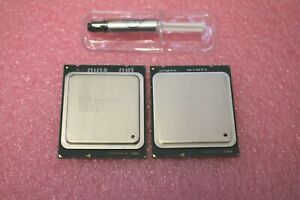 PAIR Intel Xeon E5-2690 SR0L0 8 Core 2.90GHz LGA 2011 Processors GRADE A