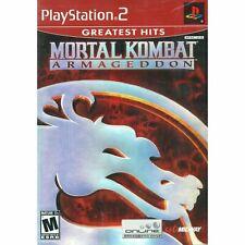 Mortal Kombat: Armageddon ( Sony PlayStation 2 / PS2 )